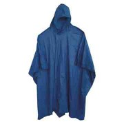 Adult Blue Re-Usable PVC Ponchos