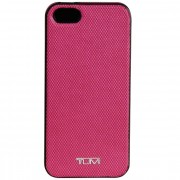 Tumi Mobile Accessory Hoes voor iPhone 5 leer raspberry