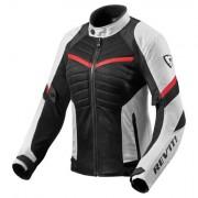 REV'IT! REVIT! Jacket Arc Air Ladies - Wit-Rood - Wit-Rood - Size: L40