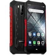"Banerqi Teléfono Moviles Resistentes(2019), Ulefone Armor X3 con Modo Submarino, Android 9.0 5.5 ""IP68 Impermeable Móvil Trabajo, Dual SIM, 2GB + 32GB, 5000mAh Batería, Desbloqueo Facial GPS Rojo"