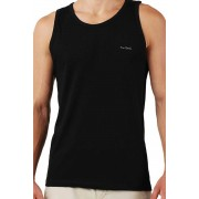 Pierre Cardin [3 Pack] Claudio Tank Top T Shirt Grey & Black & White
