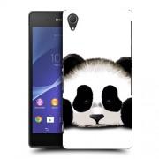 Husa SONY Xperia Z2 Silicon Gel Tpu Model Panda Trist