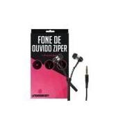 Fone De Ouvido Ziper Preto Para Lg G3 Stylus - Underbody