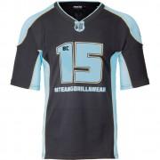 Gorilla Wear Jersey 2.0 Brandon Curry - Zwart/Lichtblauw - L