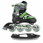 MaxCity Подростковые коньки-ролики Volt ice