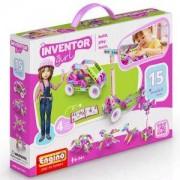 Конструктор Енджино Изобретател, 15 модела за момичета, 150056