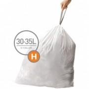 Pytle typu H do odpadkových košů Simplehuman - 20ks