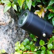 LightsOn Luna Markspot LED 12V, 5W, Svart