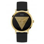 Guess Horloge Met Logo En Micro-Studs - Zwart multi - Size: T/U