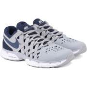 Nike LUNAR FINGERTRAP TR Training & Gym Shoes For Men(Grey, Navy)