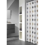 Sealskin Twister Taupe zasłona prysznicowa tekstylna 180x200cm 233501367