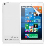 Cube iwork8 Ultimate Dual Boot Tablet PC 32GB 8 inch Windows 10 & Android 5.1 Intel Cherry Trail Z8300 Quad Core 1.44-1.84GHz RAM: 2GB(White)