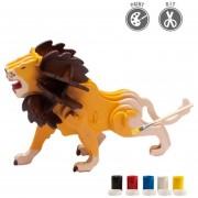 3D Puzzle De Pintura Forma Del León/Niños Juegos de mesa y Rompecabeza