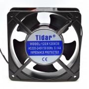 Cooler Ventilator Metalic 220V 0.14A 120x120x38mm Tidar