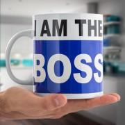 I Am The Boss Mugg XL