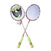 Set rachete badminton cu husa TECHNOLOGY 6948