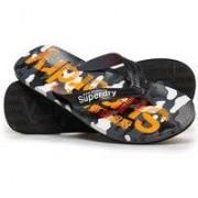 Superdry Flipflop-sandaler med heltäckande tryck