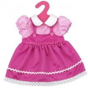 """Alcoa Prime Fashion Peter Pan Collar Dress w/ Clothes Hanger for 18"""" American Girl Doll"""