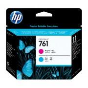 Cabezal HP LF 761 cyan/magenta T7100 400ml, CH646A