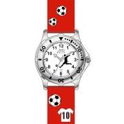 Červené dětské chlapecké náramkové hodinky JVD basic J7100.4