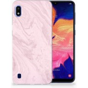 Samsung Galaxy A10 TPU Hoesje Marble Pink