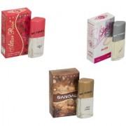 Skyedventures Set of 3 Attar Rose-Sandel-Sharlin Silver
