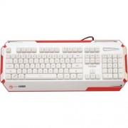 Tastatura Marvo KG805 WHITE USB, iluminata
