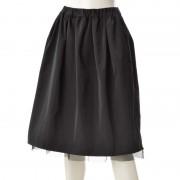 NbyA チュールふんわりリバーシブルスカート【QVC】40代・50代レディースファッション