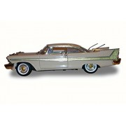 1958 Plymouth Fury, Beige - Motor Max 73115 - 1/18 Scale Diecast Model Toy Car