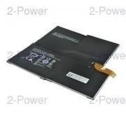 2-Power Laptopbatteri Microsoft 7.6V 5547mAh 42.2Wh (MS011301-PLP22T02)