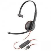 Слушалка с микрофон Plantronics Blackwire C3210, USB-A Mono, 209744-101