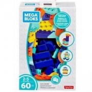 Конструктор Мега Блокс - 60 части, Mega Bloks, Fisher Price, 175047