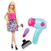 Mattel Barbie Hair Tastic Glitter Blow Dryer