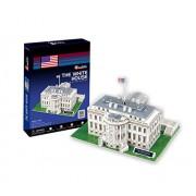 CubicFun World's Great Architectures C060h US The White House (Washington) 3D Puzzle, 65 Pieces
