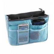 M-Trade100 New Design Handbag for Women's Made of High Quality Material Silk Multipurpose Pouch Travel Wallet Makeup Ki