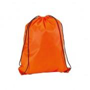 Neon oranje gymtas met rijgkoord