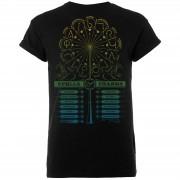 Harry Potter Camiseta Harry Potter Spells & Charms - Hombre - Negro - L - Negro