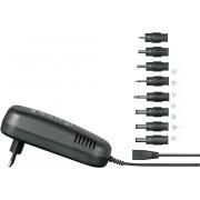 Bloc de alimentare de la retea cu 8 fise de iesire, VOLTCRAFT® SPS24-48W, 9 – 24 V/DC, 2000 mA