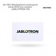 Jablotron JA-190J Bezdotyková prístupová karta RFID pre systém JABLOTRON 100