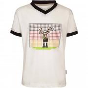 Elkline Im Tor Kinder Gr. 92/98 - T-Shirt - weiß