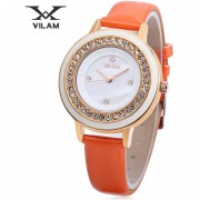 VILAM V1025L - 01B Reloj De Cuarzo Artificial Diamante Artificial Dial