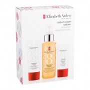 Elizabeth Arden Eight Hour Cream All-Over Miracle Oil confezione regalo olio idratante 100 ml + trattamento giornaliero della pelle 15 ml + crema mani 30 ml