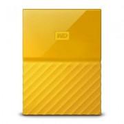 WD Produkt z outletu: Dysk zewnętrzny WD My Passport 1TB Żółty WDBYNN0010BYL-WESN
