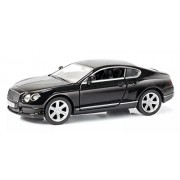 Rmz City Die Cast Bentley Continental GT V8, Black/White (5-inch)