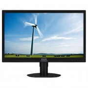 Philips monitor LED 241S4LCB, 24\ FHD, DVI, 5ms, HAS, fekete