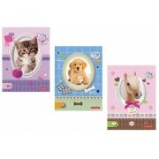Bloc notes A6 46 file matematica Pretty Pets Herlitz