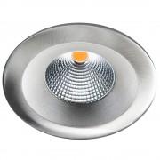 LED inbouwspot 7W 3000K 660 lumen geborsteld staal UNILED isosafe IP65 SG 904322