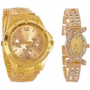 TRUE COLORS COMBO ROSRA DEAL OFFER FAST SELLING OUT Analog Watch - For Couple