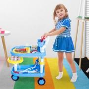 HOMCOM ® Juego de Médico 37 Pcs para Niños +3 Años47x30x55cm PP