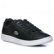 LACOSTE Schuhe Herren, Glattleder, schwarz